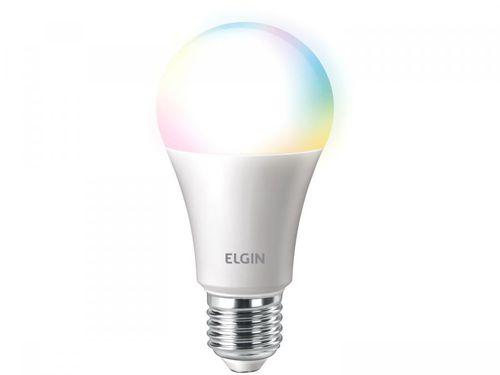 Lâmpada Smart Wi-Fi Elgin Smart Color Bulbo LED - 100W