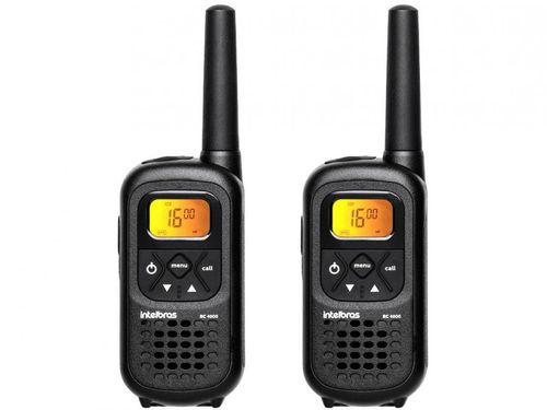Rádio Comunicador Walkie Talkie Intelbras RC4002 - 26 Canais