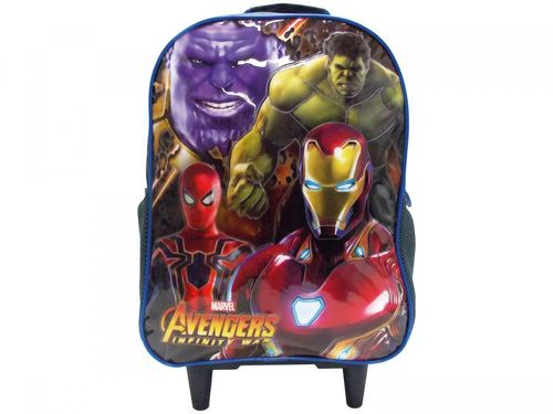 Mochila Infantil Escolar Masculina Marvel - Avengers Infinity War de Rodinhas Xeryus 96.200