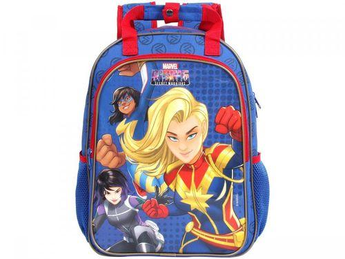Mochila Infatil Escolar Feminina Tam. G DMW - Marvel Rising Secret Warriors