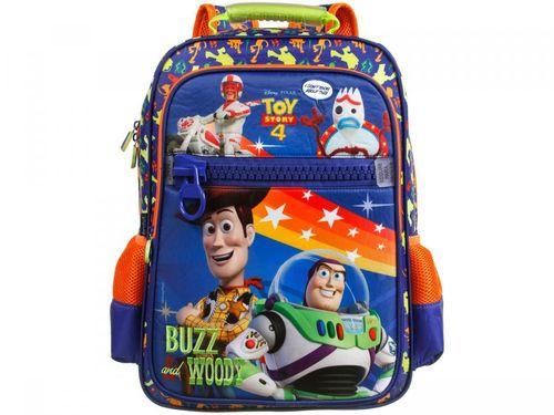 Mochila Infantil Escolar Masculina Toy Story 4 - Tam. G Dermiwil Azul
