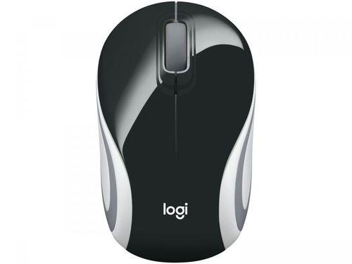 Mini Mouse sem Fio Logitech Laser 1000DPI - M187