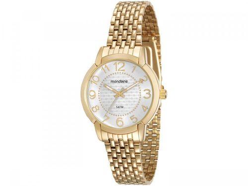 Relógio Feminino Mondaine Analógico - 53570LPMVDE1 Dourado