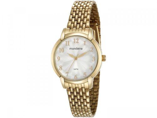 Relógio Feminino Mondaine Analógico - 53629LPMVDE1 Dourado