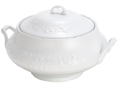 Sopeira de Porcelana Wolff Vendange 4,4L - Branco