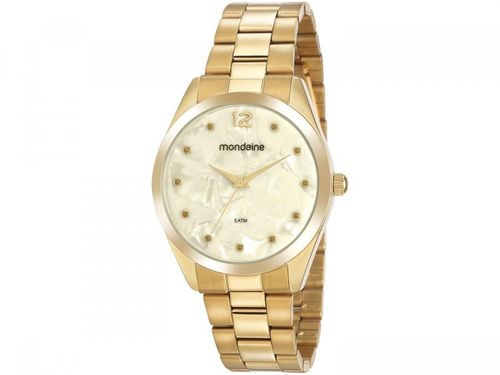 Relógio Feminino Mondaine Analógico - 53916LPMGDE2 Dourado