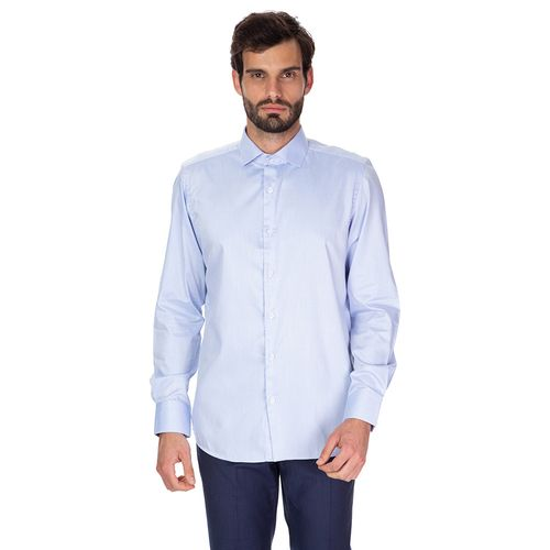 Camisa Social Diagonal Mescla