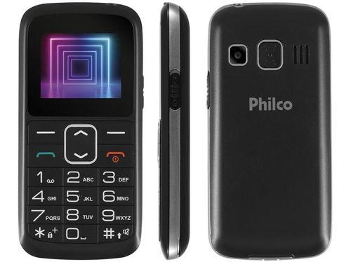 Celular Philco PCE02 Dual Chip 2G Rádio FM - Bluetooth Desbloqueado