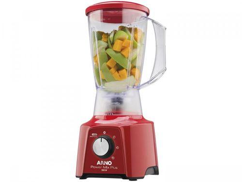 Liquidificador Arno Power Mix Plus LQ21 2L - Vermelho 3 Velocidades 550W