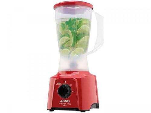 Liquidificador Arno Power Mix LQ11 2L Vermelho - 2 Velocidades 550W