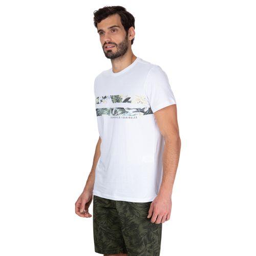 Camiseta Faixa Floral