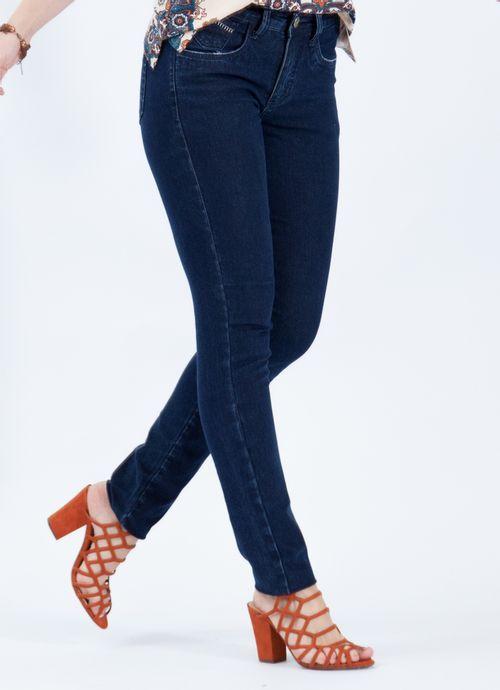 Calça Pau a Pique Jeans