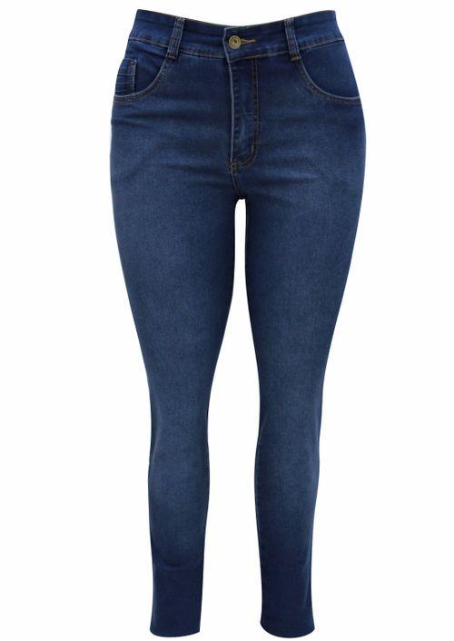 Calça Pau a Pique Jeans Skinny