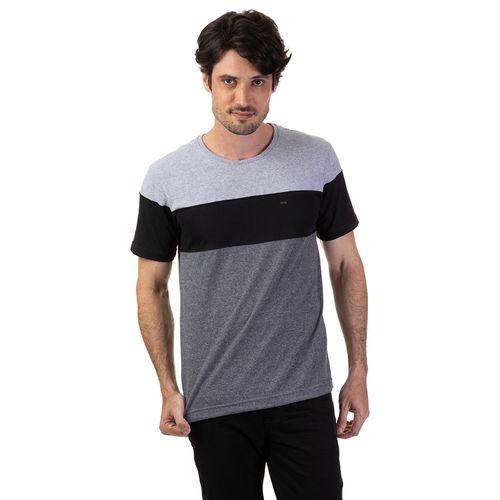Camiseta Com Recorte Liso