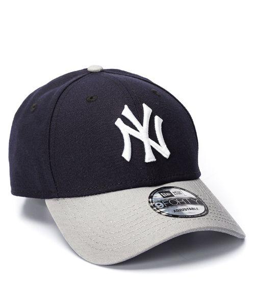 Boné New Era 940 SN Team Marinho NY Yankees MLB