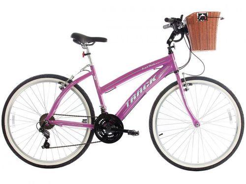 Bicicleta Track & Bikes Week 200 Plus Aro 26 - 21 Marchas Câmbio Shimano Quadro de Alumínio