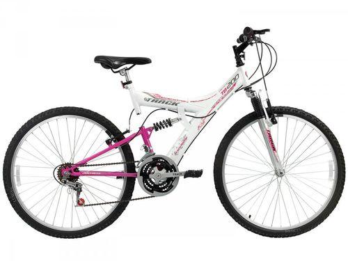 Bicicleta Track & Bikes TB-200/WP Aro 26 - 18 Marchas Suspensão Central Quadro de Aço
