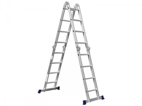 Escada Multifuncional Alumínio Mor 16 Degraus - Everest 4X4